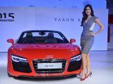 Celebs attend Varun Bahl Show for Audi