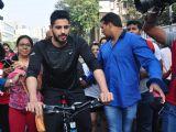 Sidharth Malhotra Cycles at Equal Street