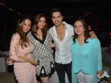 Celebs Snapped at Planet Hollywod Resort,Goa