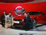 Launch of Nissan GTR at Auto Expo