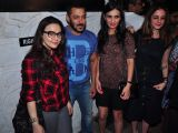 Salman Khan Snapped at Olive with Friends