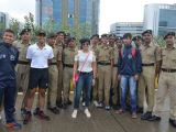 Mandira Bedi & Ali Fazal at 'Say No To Drugs' Marathon