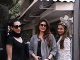 Kareena, Karishma and Amrita Arora Snapped post lunch!