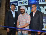Aamir Khan at The Launch Of Inox Insignia Premium