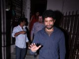 Farhan Akhtar Snapped leaving recording studio!