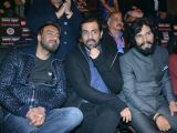 Celebs attend the launch 'Super Fight League'