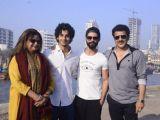 Shahid Kapoor at the launch of Ishaan Khattar's film!