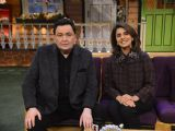 Rishi and Neetu Kapoor on the sets of 'The Kapil Sharma Show'