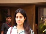 Jhanvi Kapoor Snapped