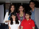 Boman Irani and Raveena Tandon snapped at St. Andrews