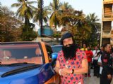 MSG Gurmeet Ram Rahim Singh Insan snapped at PVR