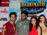 Varun Dhawan & Alia Bhatt Promote 'Badrinath Ki Dulhaniya'