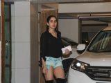 Sara Ali Khan, Karisma Kapoor & other celebs snapped at Kareena Kapoor's Bash