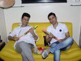 Meet Brothers Celebrate Holi in their Studio!