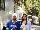 Anushka Sharma and Diljit Dosanjh Promote 'Phillauri'