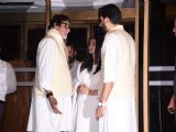 Celebs at the Prayer Meet of 'Krishnaraj Rai'