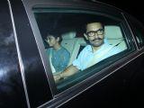 Aamir Khan snapped at Karan Johar's home!