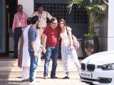 Kriti Sanon-Saif Ali Khan meet each other post Polo-match!