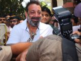 #Snapped: Sanjay Dutt leaves from Andheri Court!