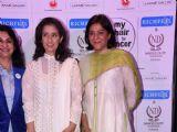 Manisha Koirala and Priya Dutt at 'My Hair for Cancer'