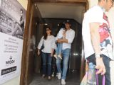 Akshay Kumar - Twinkle Khanna snapped with daughter Nitara