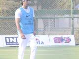 Ranbir Kapoor, Dino Morea and Raj Kundra snapped playing Soccer!