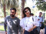 Shilpa Shetty - Raj Kundra Snapped post Lunch