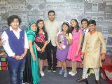 A R Rahman, Sridevi and Boney Kapoor snapped at Sa Re Ga Ma Lil Champs