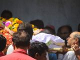 Reema Lagoo's Funeral Pictures