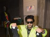 A radiant Ranveer Singh at the Adidas Store