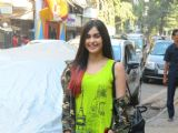 Adah Sharma Spotted in the city.