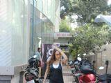 Malaika Arora at her gym.