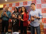 Juhi Chawla launches Jyotin Goel's new book, 'Bheem'