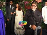 Bachchan's, Sridevi, Karan, Sidharth and others at the Reception