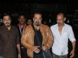 Sanjay Dutt - Sunil Shetty at Airport