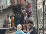 Ranveer Singh - Alia Bhatt shoot for Gully Boy