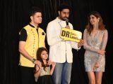 Abhishek Bachchan, Rekha, Sunny Leone at an event