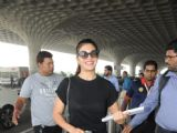 Jacqueline Fernandez snapped at airport