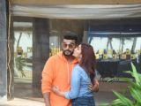 Arjun Kapoor and Parineeti Chopra spotted promoting their upcoming movie