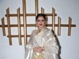 Jitendra Kapoor and Rekha spotted at Hema Malini's  Birthday Bash
