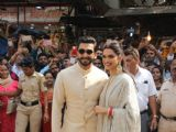 Ranveer Deepika at Siddhivinayak Temple