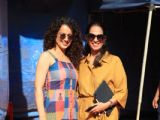 Kangana Ranaut snapped with Anita Dongre!