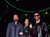 'Simmba' cast at the sets of Indian Idol 10