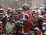 Kunal Kapoor snapped at Santa charity run