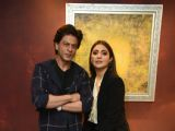 Shah Rukh and Anushka snapped at 'Zero' promotions