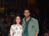 Vicky and Yami at India's Got Talent for URI promotions