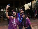 Ahan Shetty spends his 23rd birthday with his friends