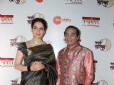 Celebrities snapped at Marathi Taraka Awards 2019