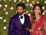 Actors at Amit Thackeray's reception