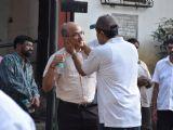 Celebrites Spotted at Raj Kumar Barjatya's Funeral
